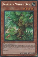 Naturia White Oak - HA04-EN051 - Secret Rare - Unlimited Edition