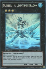 Number 17: Leviathan Dragon - GENF-EN039 - Ghost Rare - Unlimited Edition