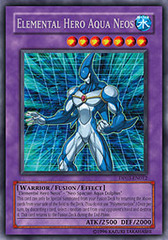 Elemental Hero Aqua Neos - DP03-EN012 - Rare - Unlimited Edition