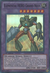 Elemental HERO Grand Neos - LCGX-EN060 - Super Rare - 1st Edition