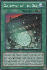 Gateway of the Six - LCGX-EN259 - Common - 1st Edition