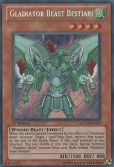Gladiator Beast Bestiari - LCGX-EN237 - Secret Rare - 1st Edition