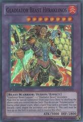 Gladiator Beast Heraklinos - LCGX-EN253 - Super Rare - 1st Edition