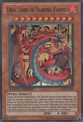 Uria, Lord of Searing Flames - LC02-EN001 - Ultra Rare - Limited Edition
