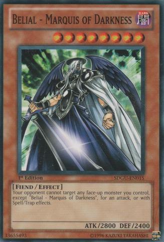 Belial - Marquis of Darkness - SDGU-EN015 - Common - 1st Edition