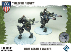 Dust Tactics: Light Assault Walker -