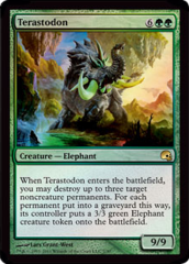Terastodon - Foil on Channel Fireball