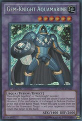 Gem-Knight Aquamarine - HA05-EN020 - Secret Rare - 1st Edition on Channel Fireball