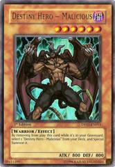 Destiny Hero - Malicious - DP05-EN011 - Ultra Rare - Unlimited Edition