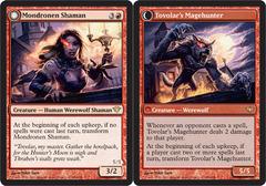 Mondronen Shaman // Tovolar's Magehunter - Foil