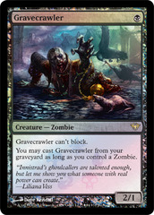 Gravecrawler (Dark Ascension Box Promo) on Channel Fireball