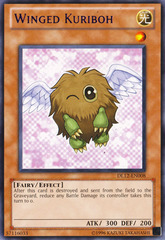 Winged Kuriboh - Purple - DL12-EN008 - Rare - Promo Edition