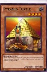 Pyramid Turtle - Green - DL11-EN008 - Rare - Promo Edition on Channel Fireball