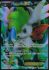 Shaymin-EX - 94/99 - Full Art Ultra Rare