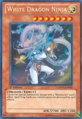 White Dragon Ninja - ORCS-EN084 - Secret Rare - Unlimited Edition