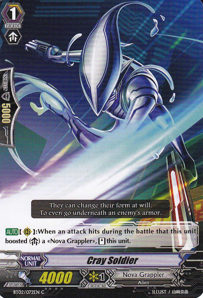 Cray Soldier - BT02/072EN - C