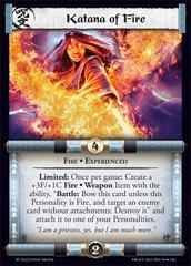 Katana of Fire (Experienced)