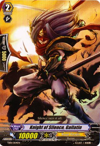Knight of Silence, Gallatin - TD01/004EN