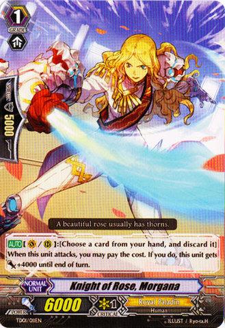 Knight of Rose, Morgana - TD01/011EN