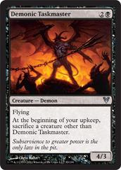 Demonic Taskmaster - Foil on Ideal808