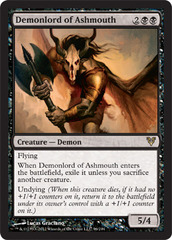 Demonlord of Ashmouth - Foil on Ideal808
