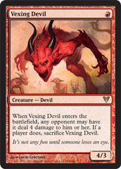 Vexing Devil - Foil on Channel Fireball
