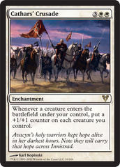 Cathars' Crusade - Foil on Channel Fireball