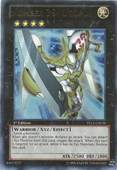 Number 39: Utopia - YS12-EN039 - Ultra Rare - 1st Edition on Channel Fireball