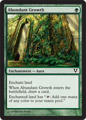 Abundant Growth - Foil on Channel Fireball