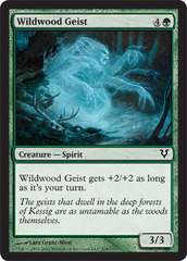 Wildwood Geist - Foil on Channel Fireball