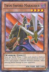 Twin-Sword Marauder - BP01-EN207 - Starfoil Rare - 1st Edition