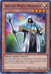 Skilled White Magician - BP01-EN131 - Common - 1st Edition