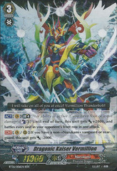 Dragonic Kaiser Vermillion - BT06/006EN - RRR on Channel Fireball
