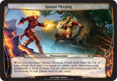 Spatial Merging on Channel Fireball