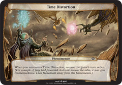 Time Distortion on Channel Fireball