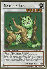 Naturia Beast - GLD5-EN032 - Gold Rare - Limited Edition