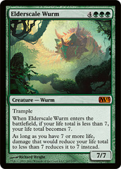 Elderscale Wurm - Foil on Ideal808