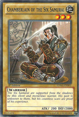 Chamberlain of the Six Samurai - SDWA-EN001 - Common - 1st Edition on Channel Fireball