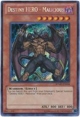 Destiny HERO - Malicious -RYMP-EN034 - Secret Rare - Unlimited Edition