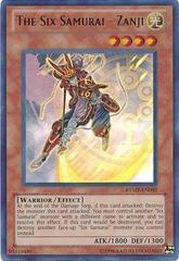 The Six Samurai - Zanji -RYMP-EN092 - Ultra Rare - Unlimited Edition