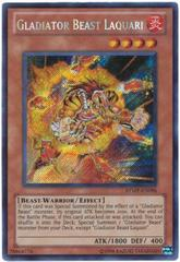 Gladiator Beast Laquari -RYMP-EN096 - Secret Rare - Unlimited Edition