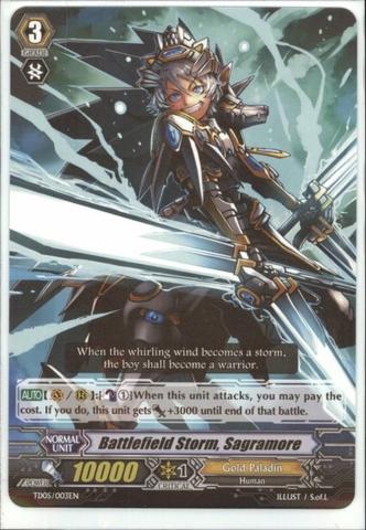 Battlefield Storm, Sagramore - TD05/003EN
