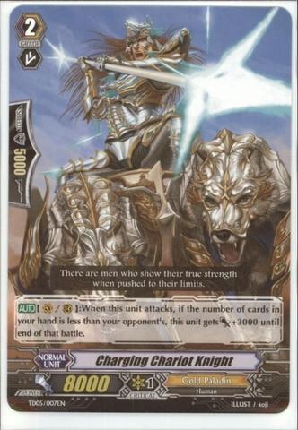 Charging Chariot Knight - TD05/007EN