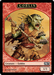 Goblin Token - Magic 2013 League Promo on Channel Fireball