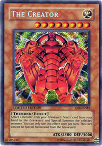 The Creator - EEN-ENSE2 - Secret Rare - Limited Edition
