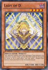 Lady of D. - GAOV-EN036 - Common - Unlimited Edition
