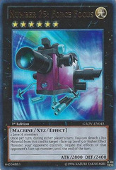 Number 25: Force Focus - GAOV-EN045 - Ultra Rare - Unlimited Edition