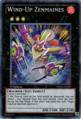 Wind-Up Zenmaines - PHSW-EN087 - Secret Rare - Unlimited Edition