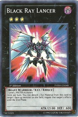 Black Ray Lancer - PHSW-EN040 - Super Rare - Unlimited Edition on Channel Fireball