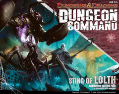 Dungeon Command: Sting of Lolth on Channel Fireball